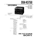 dxa-h3750, mhc-3750 (serv.man2) service manual