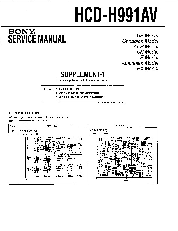 Sony mhc 991av инструкция