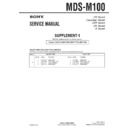 mds-m100 (serv.man2) service manual