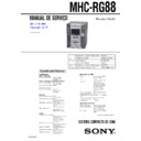 MHC-RG88 (serv.man2) Service Manual