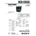 MHC-VX333 (serv.man2) Service Manual