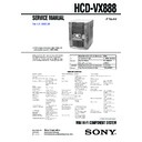MHC-VX888 (serv.man2) Service Manual