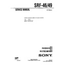 Sony SRF-46, SRF-49, SRF-59 Service Manual