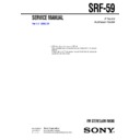 Sony SRF-59 (serv.man2) Service Manual