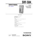 srf-s84 (serv.man2) service manual