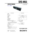srs-m55 service manual
