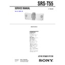 srs-t55 service manual