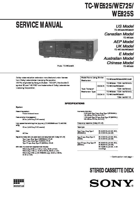 Sony Ericsson K800 Repair Manual