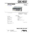 Sony CDC-R237 Service Manual