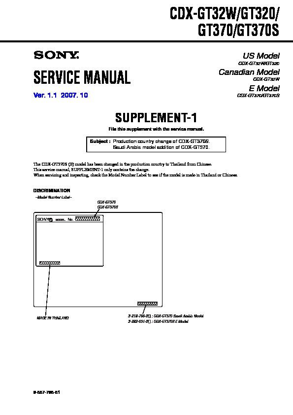 sony cdx gt32w wiring diagram sony cdx gt320  cdx gt32w  cdx gt370  cdx gt370s  serv man2  sony cdx gt320  cdx gt32w  cdx gt370