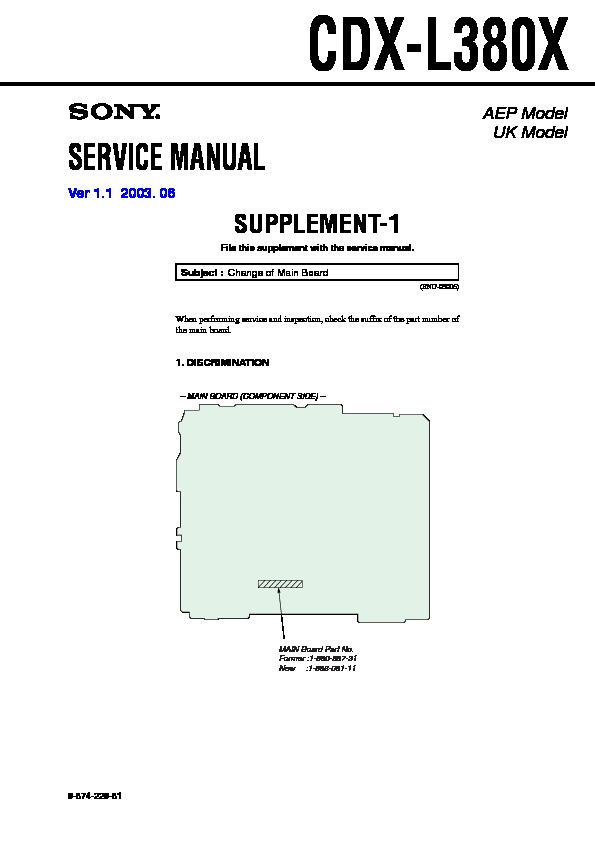 Sony Car Audio service manuals - Page 33 Sony Cdx L Wiring Diagram Free on sony cdx-gt270mp, sony cdx-gt575up, sony portable cd player, sony cdx-gt260mp, sony single din dvd car stereo,