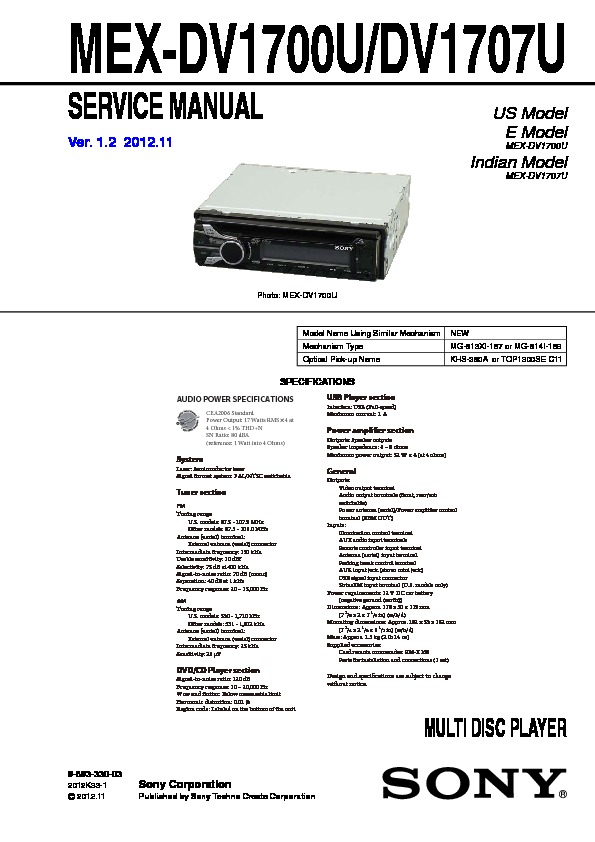 Cheap sony car audio user manuals array sony car audio service manuals page 49 rh servlib com fandeluxe