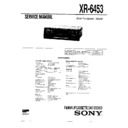 Sony XR-6453 Service Manual