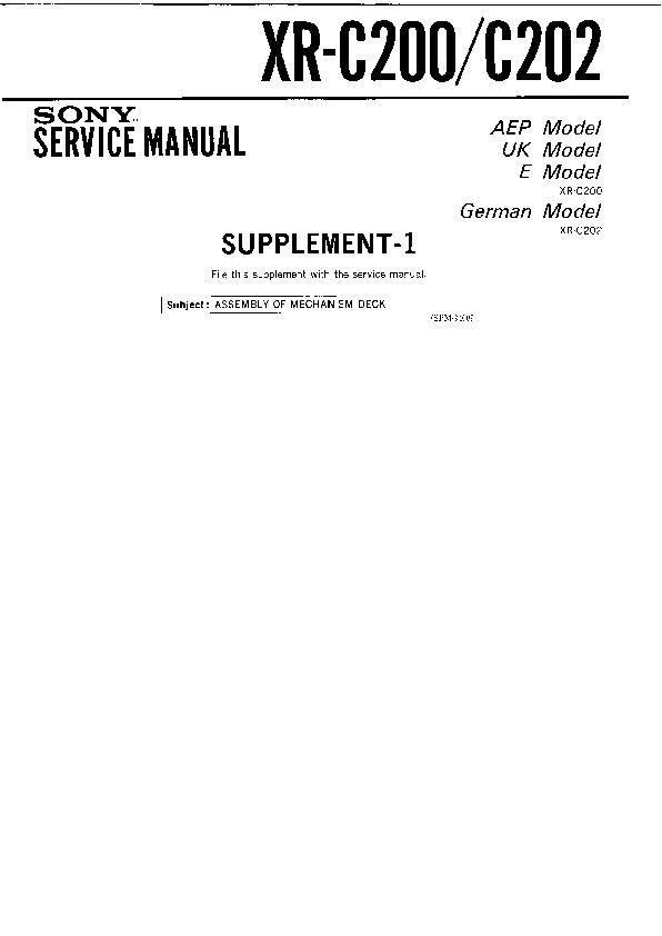 sony xr c200 xr c202 serv man2 service manual view online or rh servlib com nokia c2-02 service manual Nokia C208