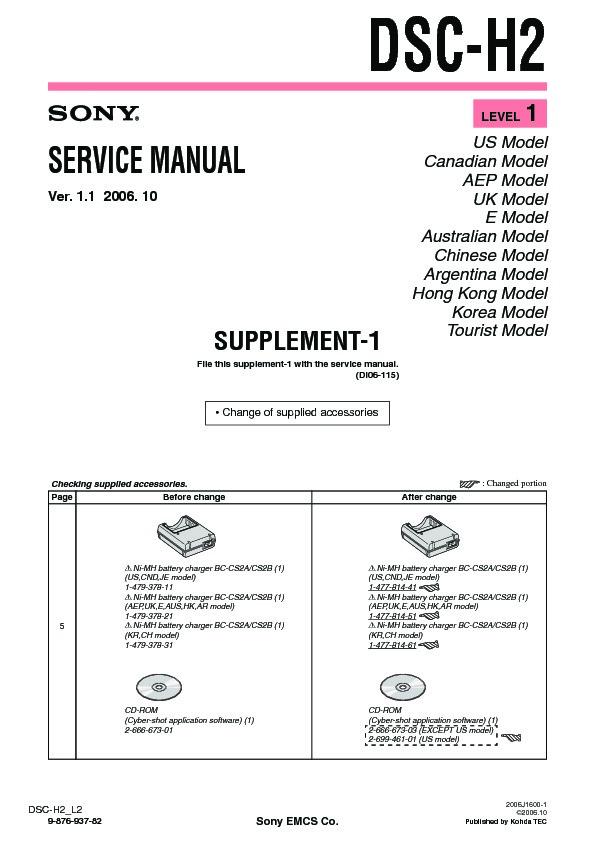 sony dsc h2 serv man6 service manual view online or download rh servlib com DSC 1555 User Manual DSC 1555 User Manual