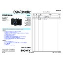 DSC-RX100M2 (serv.man2) Service Manual
