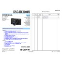DSC-RX100M3 (serv.man4) Service Manual