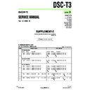 Sony DSC-T3, DSC-T33 (serv.man8) Service Manual