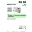 Sony DSC-T30 (serv.man10) Service Manual