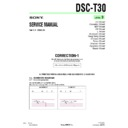 Sony DSC-T30 (serv.man9) Service Manual