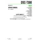 Sony DSC-T300 (serv.man7) Service Manual