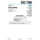 Sony DSC-T300 (serv.man8) Service Manual