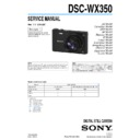 DSC-WX350 (serv.man2) Service Manual