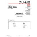 DSLR-A100 (serv.man2) Service Manual