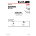 DSLR-A100 (serv.man5) Service Manual