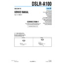DSLR-A100 (serv.man6) Service Manual