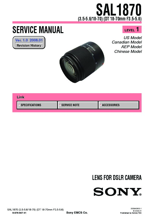 sony dslr a300 service manual view online or download repair manual rh servlib com sony a300 user manual sony a300 service manual