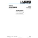 sal100m28 (serv.man3) service manual