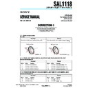 SAL1118 (serv.man3) Service Manual