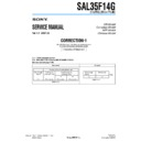 sal35f14g (serv.man3) service manual