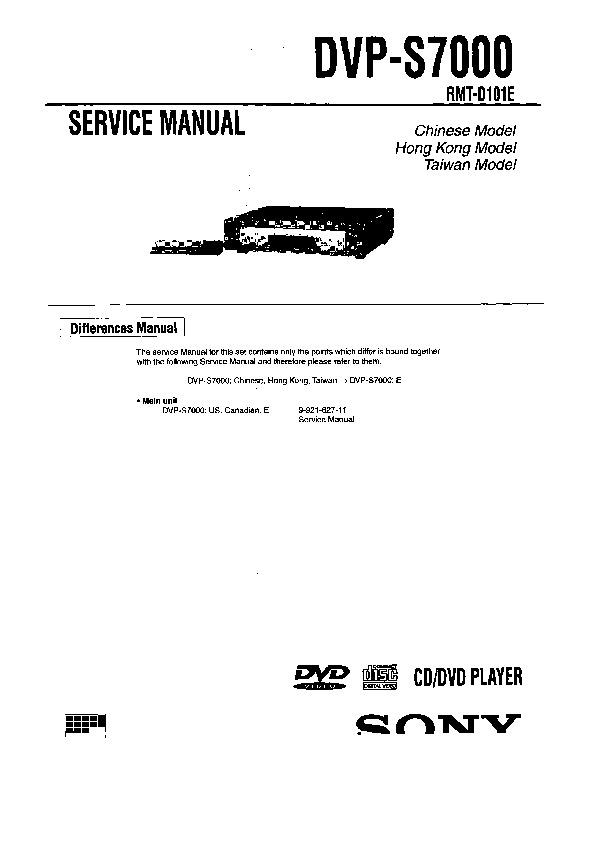 sony dvp s7000 serv man5 service manual view online or download rh servlib com dvp-s7000 service manual fuji finepix s7000 service manual