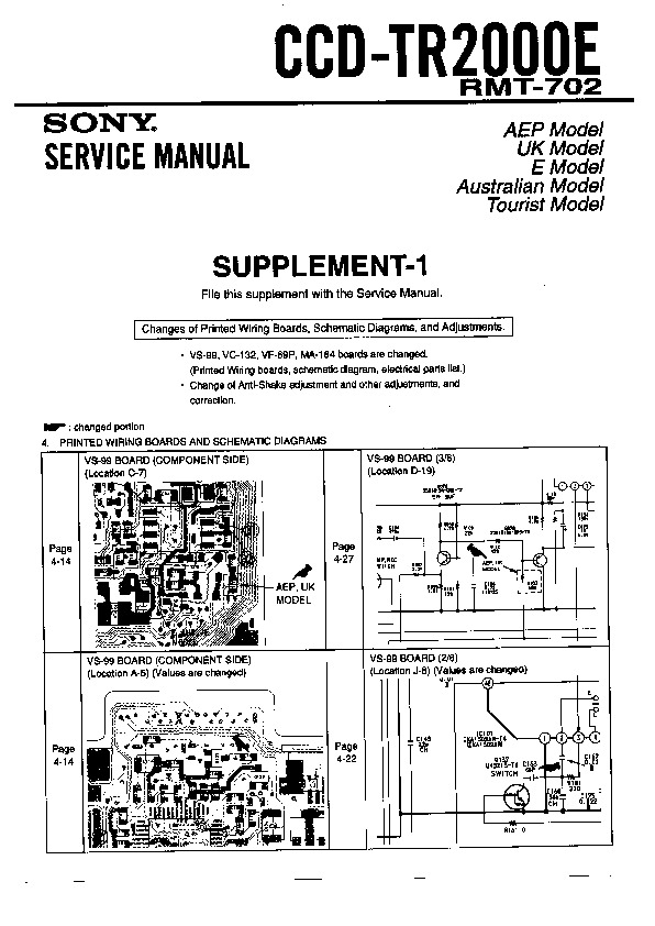 ford sony amplifier wiring diagram sony ccd-tr2000e (serv.man5) service manual — view online ... sony ccd wiring diagram