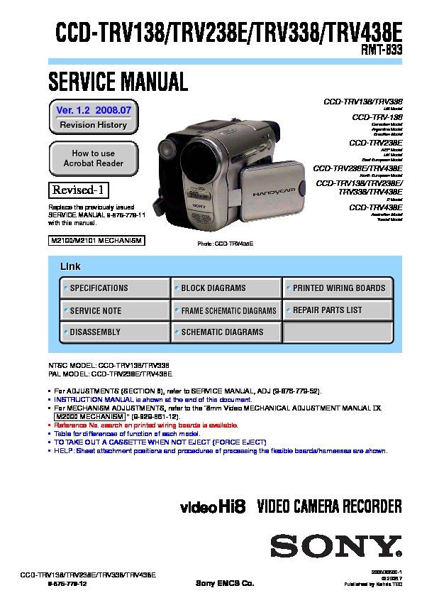 sony ccd tr315 ccd tr416 ccd tr416pk ccd tr516 ccd tr516pk ccd rh servlib com Sony Ccd- Tr Sony Super HAD CCD Cameras