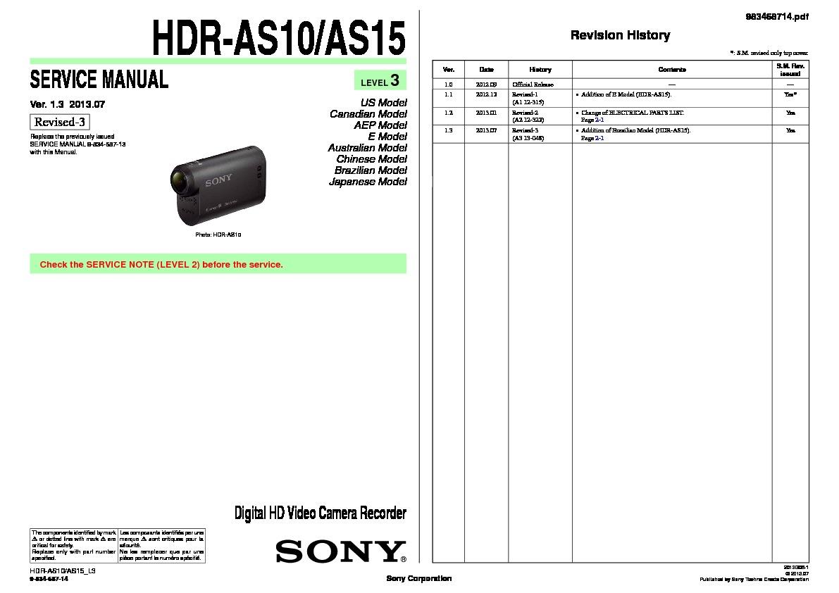 sony ax100 manual pdf