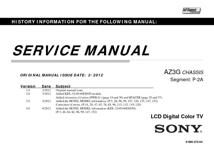 Kdl 22ex553 sony инструкция
