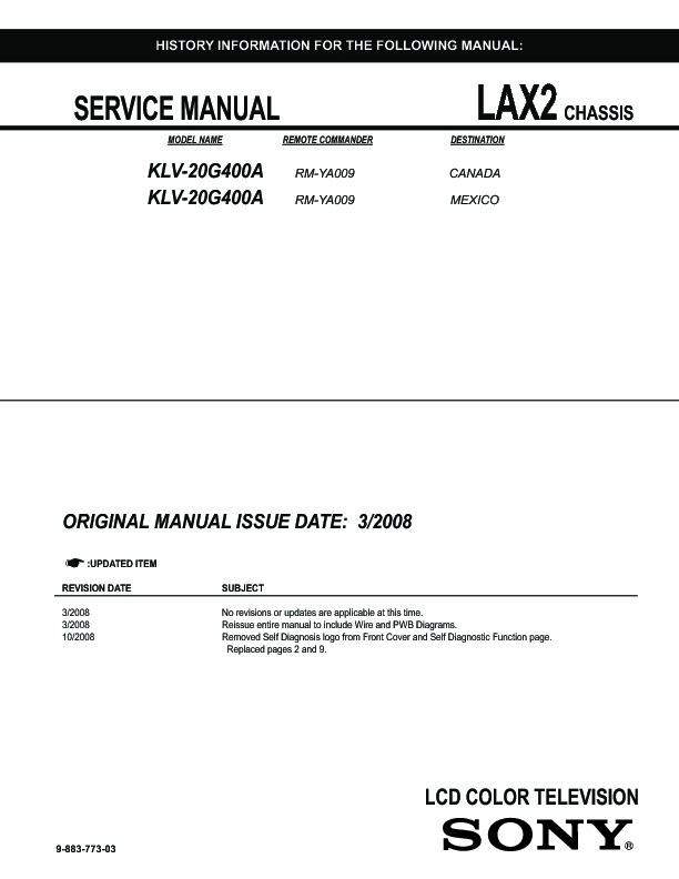 92 883 Service Manual