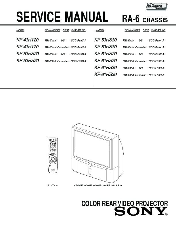 sony kp 43ht20 kp 53hs20 kp 53hs30 kp 61hs20 kp 61hs30 serv rh servlib com Service ManualsOnline Auto Repair Manual