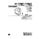 Sony KV-F25MF1 (serv.man2) Service Manual