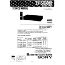 Sony EV-S1000B (serv.man2) Service Manual