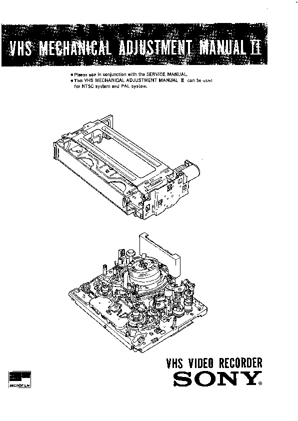 Sony Vcr Schematic All Kind Of Wiring Diagrams