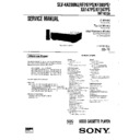 Sony SLV-KA200MJ, SLV-KF297PS, SLV-KF300PS, SLV-XA147PS, SLV-XF247PS Service Manual