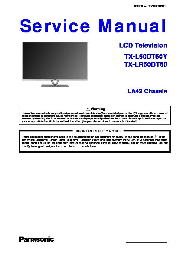 Amoi lcd tv service manual